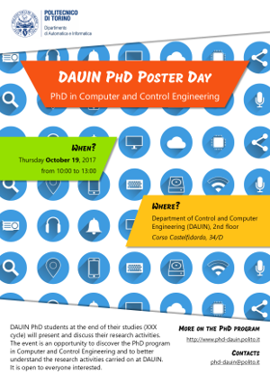 DAUIN PhD Poster Day 2017