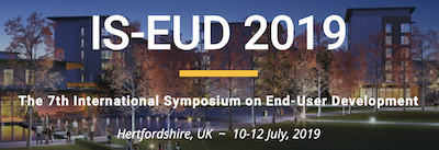IS-EUD 2019 logo